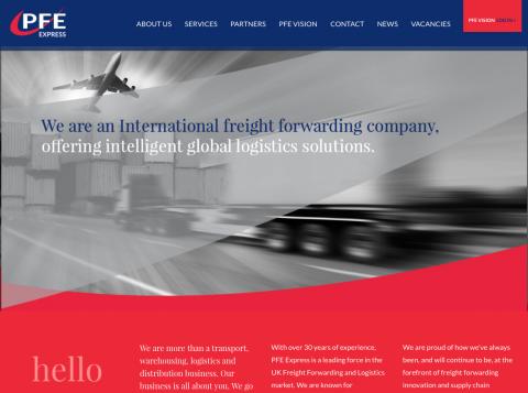 new company website