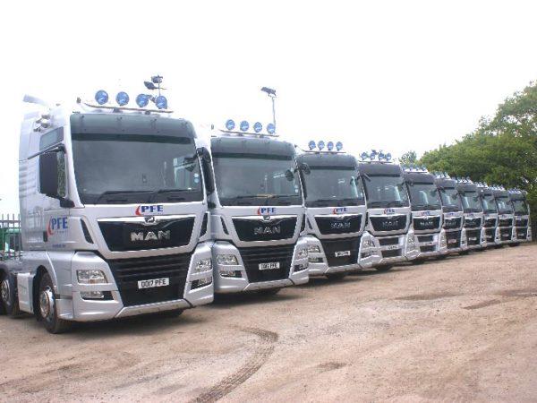 euro 6 trucks