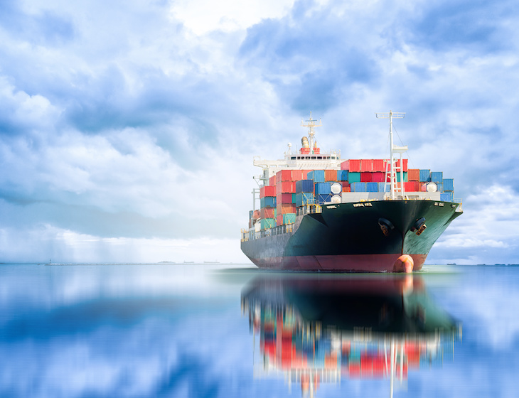sea freight demand soars