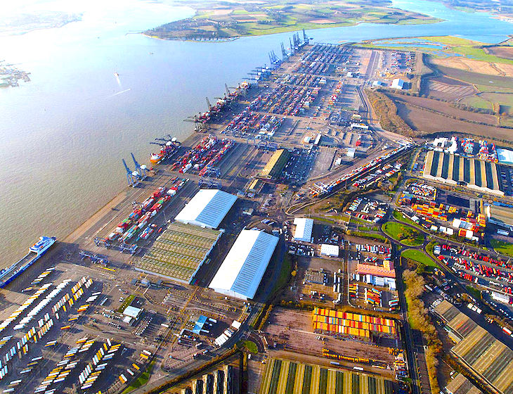 Severe Disruption at Port of Felixstowe