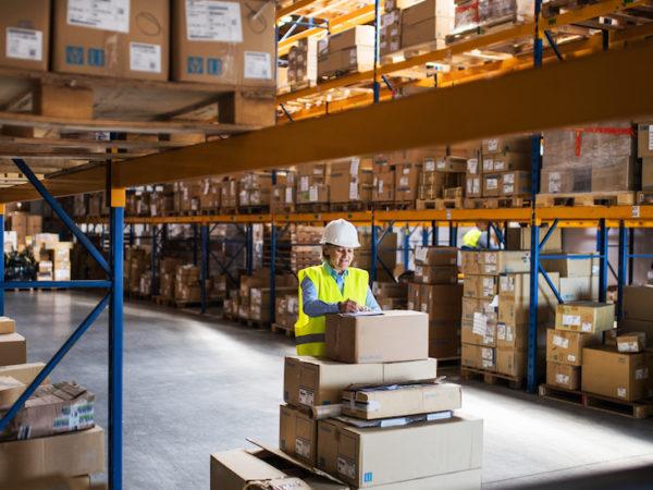 women working in logistics