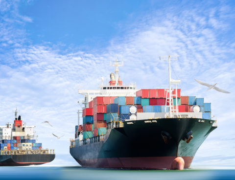 pressures in sea freight market continue